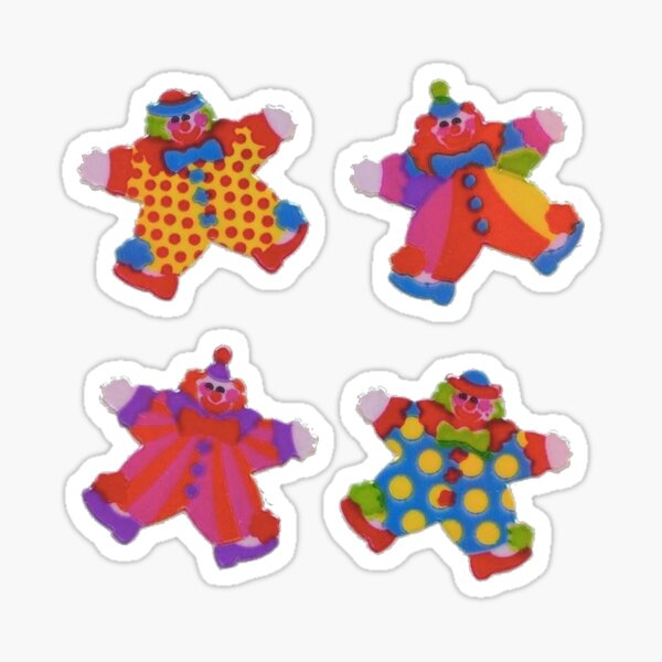 clown set Sticker
