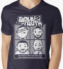 The Table of Truth Faces Logo Tee Men's V-Neck T-Shirt