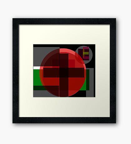 Crossing Life Framed Print