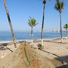 Art made of sand - Arte con arena, Puerto Vallarta, Mexico by PtoVallartaMex