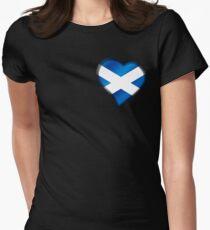 Scottish Flag - Scotland - Heart T-Shirt