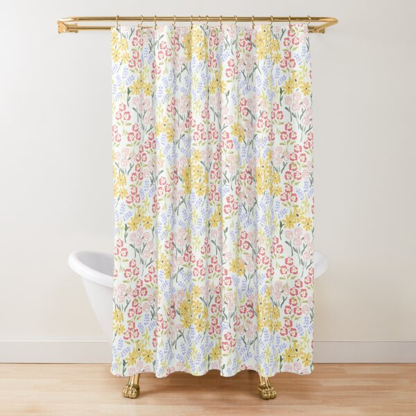Meadow Walk by Tea with Xanthe Shower Curtain