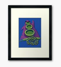 Day of the Tentacle (Distressed) Framed Print