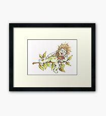 little chestnut fairy Framed Print