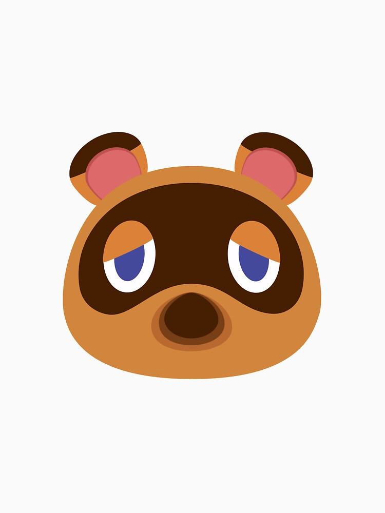 """Animal Crossing : New Horizons, Tom Nook face white ..."