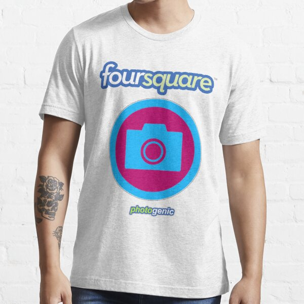 Foursquare Photogenic Badge Essential T-Shirt