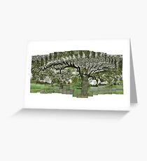 Indian Bean Tree in Motion Greeting Card