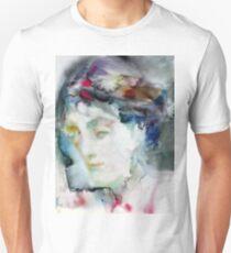 VIRGINIA WOOLF - watercolor portrait.3 Unisex T-Shirt