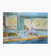 The Parked Pink Cruiser Photographic Print