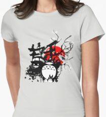 Spiritueux du Japon T-shirt col V femme