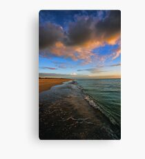 S. Brouhard Beach at Sunset - Venice, FL Canvas Print
