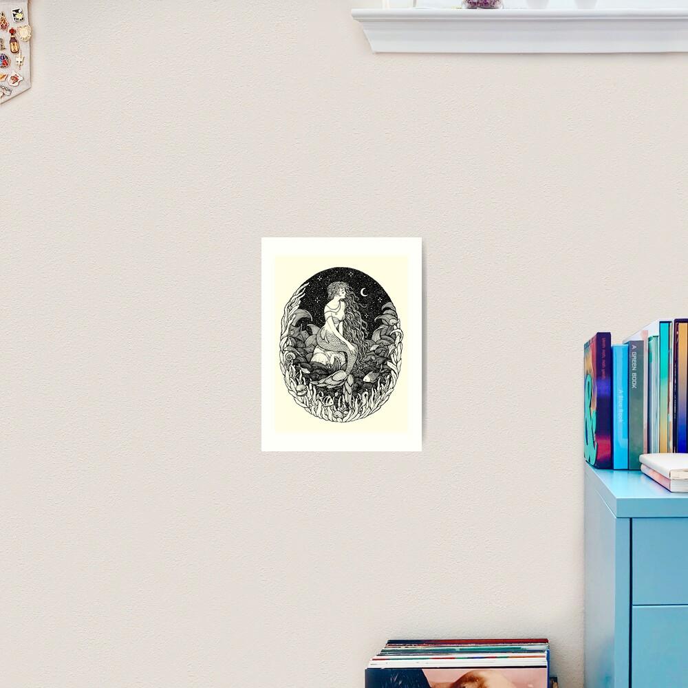 Sereia Art Print