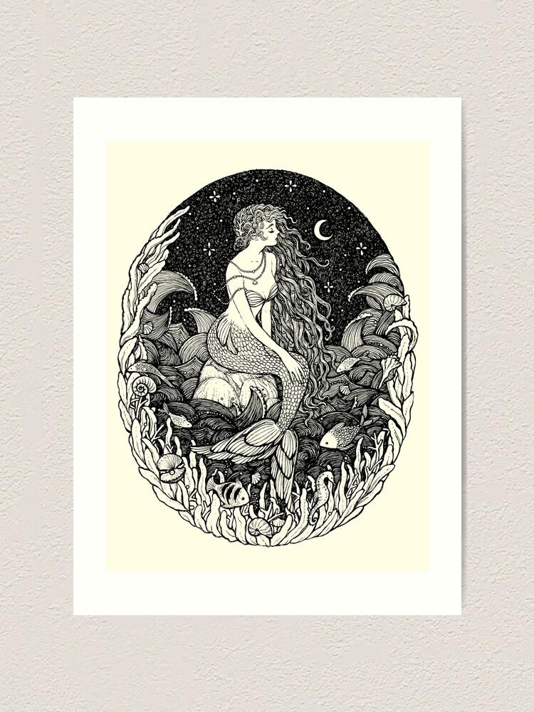 Alternate view of Sereia Art Print