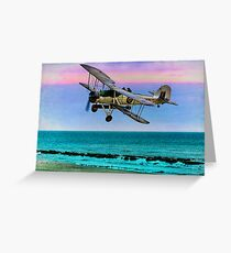 Fairey Swordfish II LS326 Greeting Card