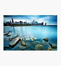 Windy City Blues Photographic Print