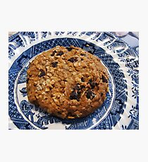 Crunchy Cookie - Tasty Treat Photographic Print