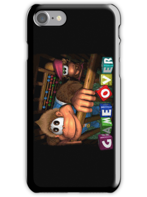 """Donkey Kong Country 3 Game Over Landscape iPhone Case ..."