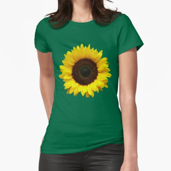 OneSunflower Fitted T-Shirt