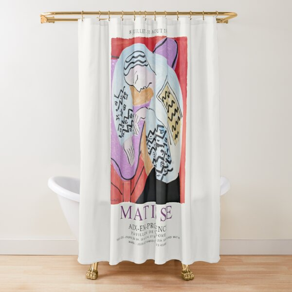 Matisse Exhibition - Aix-en-Provence - The Dream Artwork Shower Curtain