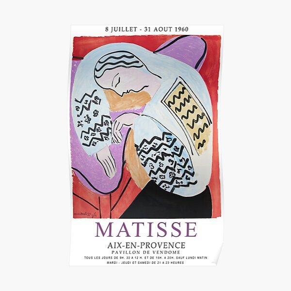Exposition Matisse - Aix-en-Provence - L'œuvre de rêve Poster