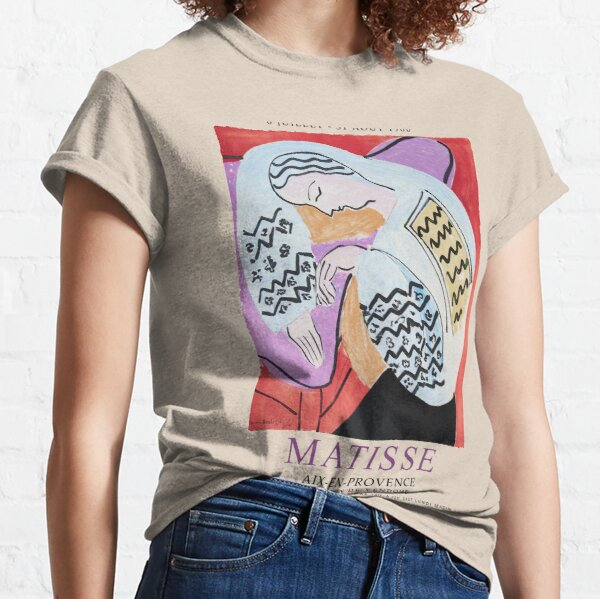 Matisse Exhibition - Aix-en-Provence - The Dream Artwork Classic T-Shirt