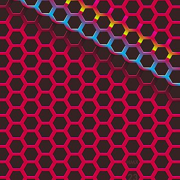 Hexagonal CMYK by hmx23