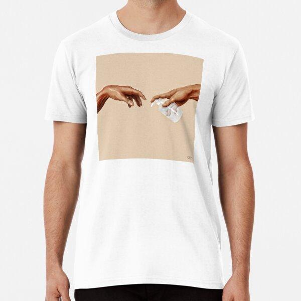 Miguel Ángel - Lávese las manos Camiseta premium