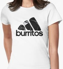 BURRITOS Women's Fitted T-Shirt