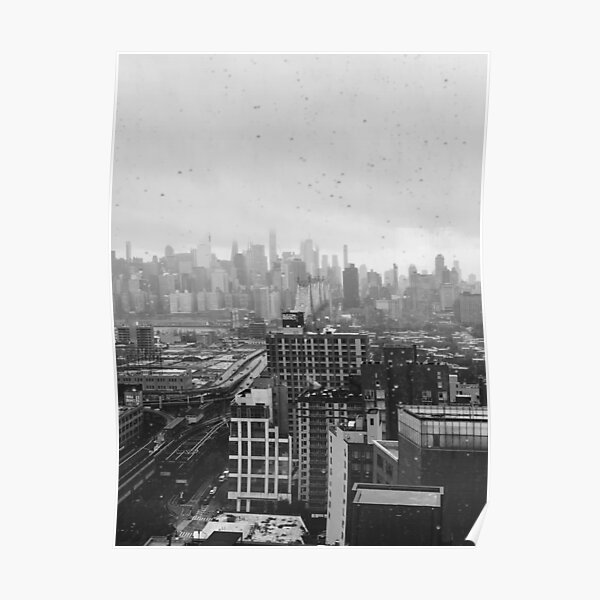 Black and white photo Poster