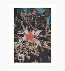 ' Red Star ' Art Print