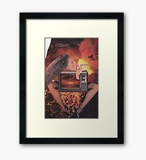 ' Take a Rip ' Framed Print