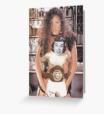 ' A Knockout ' Greeting Card