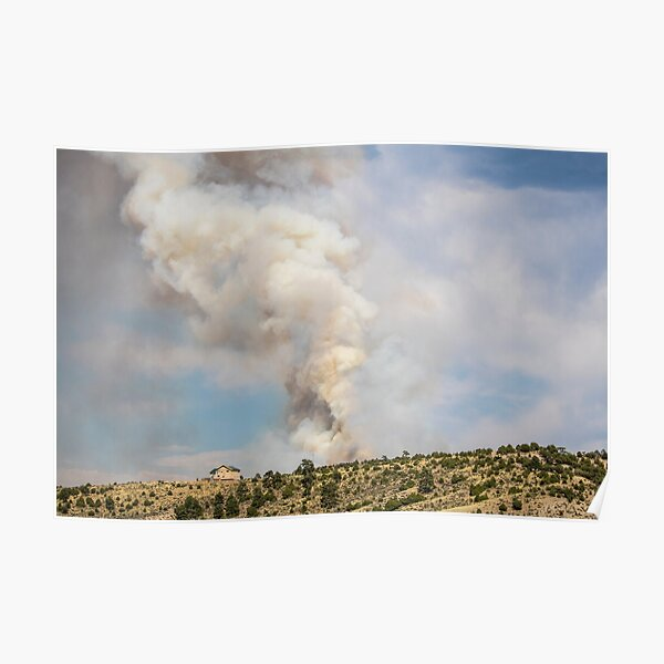 Smoke in the Rockies Poster