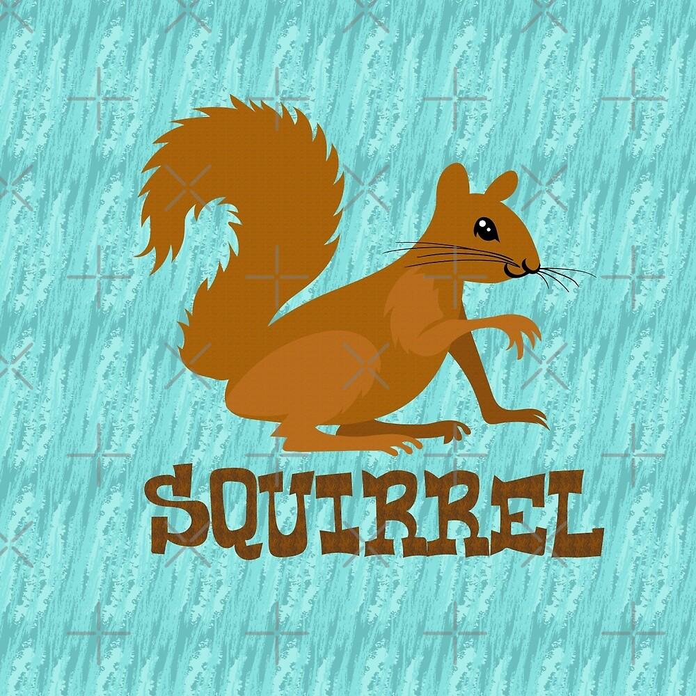 Cute: Squirrel by PepomintNarwhal