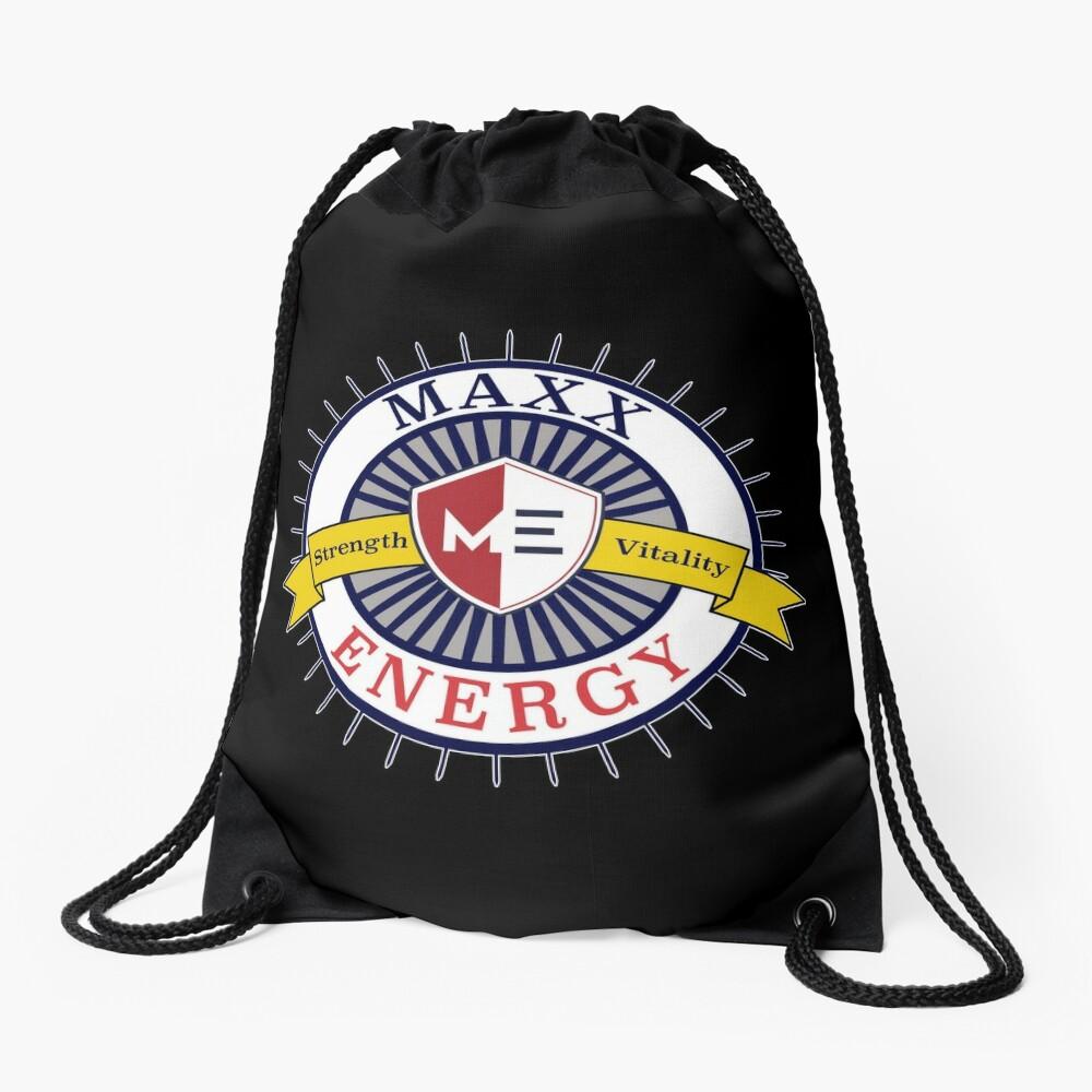 Positive Maxx Energy Optimistic Attitude Meditate. Drawstring Bag