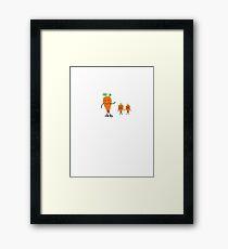 Baby Carrots Framed Print