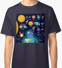 Universe Concept Isometric Classic T-Shirt