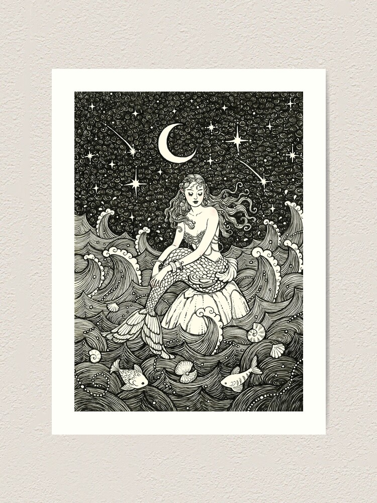 Alternate view of The Sea Wished Me Love Art Print