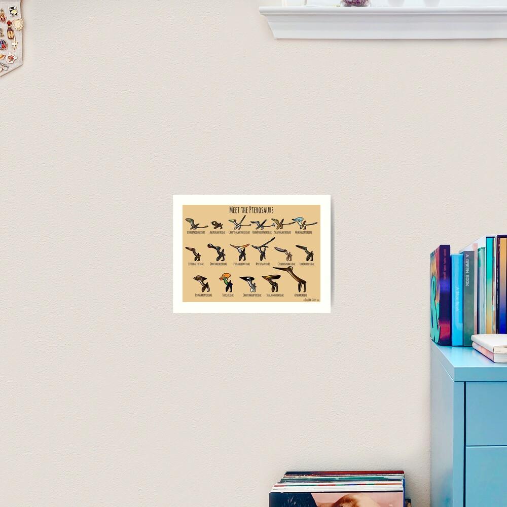 Meet the Pterosaurs Art Print