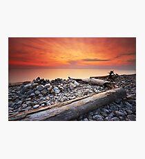 Sunset on Washington Island Photographic Print