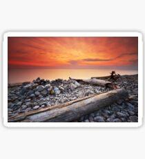 Sunset on Washington Island Sticker