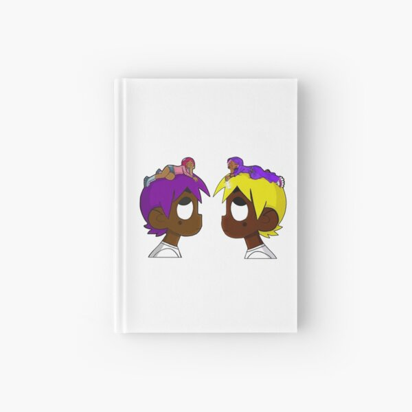 double uzi- face to face Hardcover Journal