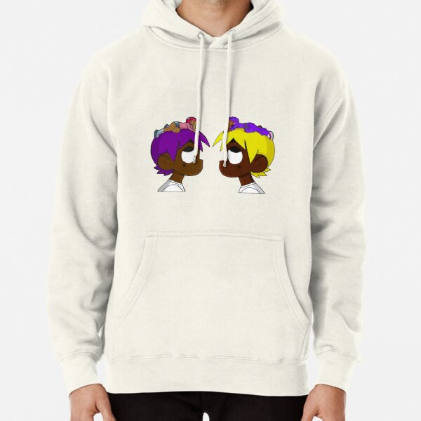 double uzi- face to face Pullover Hoodie