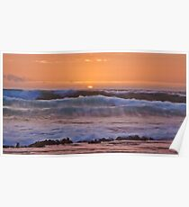 Surf from Gibson Beach Poster