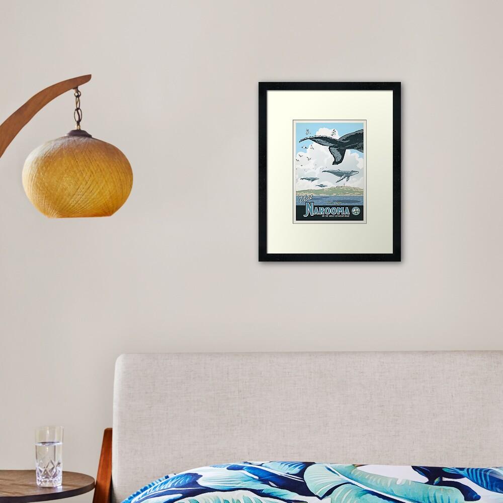 Narooma Framed Art Print
