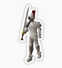 White Knight Sticker