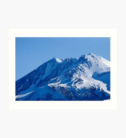 Shasta Mountain Art Print