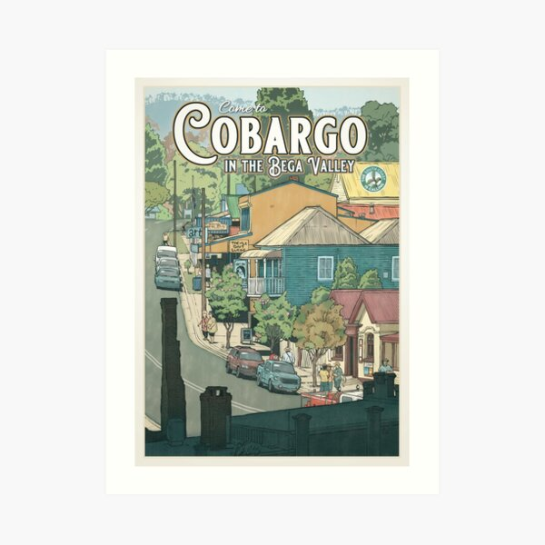 Cobargo Art Print