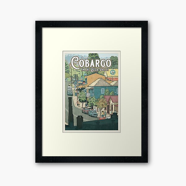Cobargo Framed Art Print