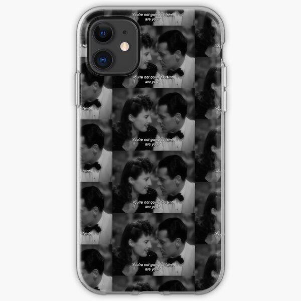 THE LADY EVE 1930's movie quote iPhone Soft Case